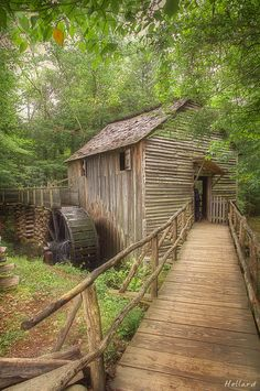 Old mill, Great Smoky Mountains National Park, Tennessee