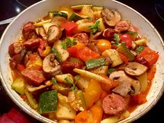 Szybki posiłek z patelni Pasta Salad, Cobb Salad, Kung Pao Chicken, Grilling, Pork, Dinner, Ethnic Recipes, Sweet, Dutch Oven