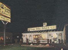 Vintage Long John Silvers, I can remember them looking like that.
