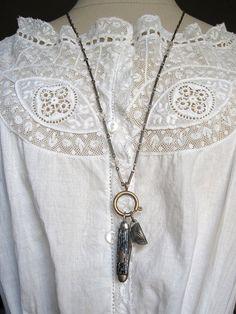Mini Pocket Knife Vintage Necklace (sold)