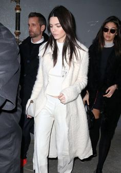 Kendall Jenner leaving Calvin Klein Fashion Show in NYC