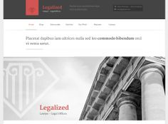 Legalized - includes templates for clients and testimonials, and it incorporates MailChimp