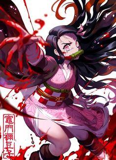 Yandere Manga, Chica Anime Manga, Anime Chibi, Otaku Anime, Kawaii Anime, Wallpaper Animes, Animes Wallpapers, Demon Art, Anime Demon