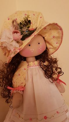 Lifelike Dolls, Fabric Dolls, Rag Dolls, Doll Patterns, Doll Clothes, Projects To Try, Flower Girl Dresses, Toys, Disney