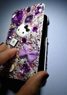 Custom Blackberry Z10 360 Smartcase for sale now on the site at https://www.etsy.com/listing/163394772/blackberry-z10-custom-made-bling-cover