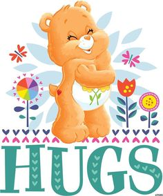 Sending Care Bears Hugs and Love! Thank you my beautiful friend Grace. Care Bears, Hug Images, Care Bear Party, Hug Quotes, Sending Hugs, Bear Pictures, Cute Clipart, Love Hug, Big Hugs