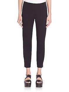 Vince Slim-Fit Trousers - Black - Size