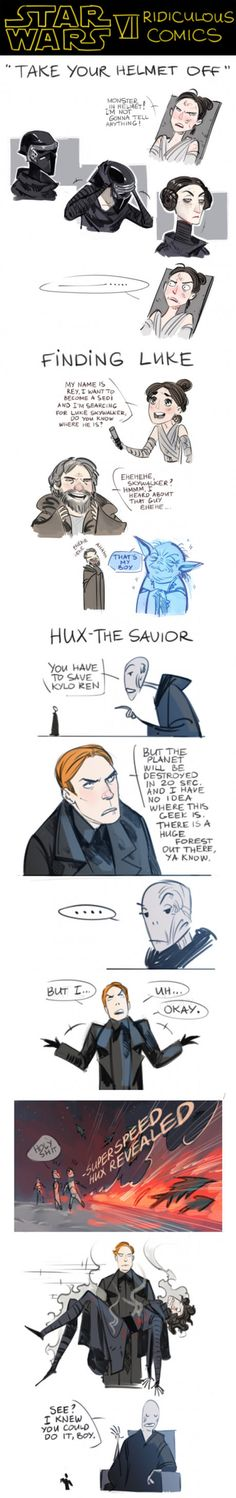 Star Wars VII Ridiculous Comics (Spoilers)