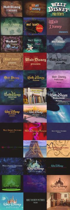Disney presents logo