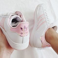 61998195b Adidas Women Shoes - Baby pink adidas superstars - Adidas Shoes for Woman -  - We reveal the news in sneakers for spring summer 2017