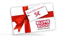Blume 2000-Gutschein 5€