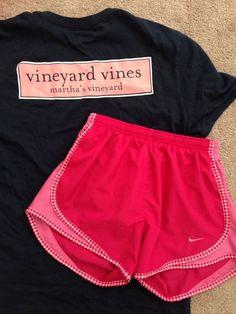 Vineyard vibes and nikes