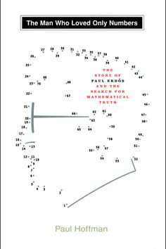Book Cover. Designed by Carin Goldberg. Title: The Man Who Loved Only Numbers. Author: Paul Hoffman. 1998.