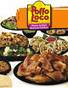 El Pollo Loco - there's not any in our area, but now we know where to go for awesome Mexican fast food in Brownsville!