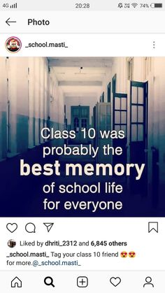 Yes because you understand that STUDY is more important than all those shits! Real Friendship Quotes, Real Life Quotes, Best Friend Quotes, Reality Quotes, Besties Quotes, Childhood Memories Quotes, School Memories, Funny School Jokes, Some Funny Jokes