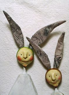with some fimo or paper clay...these can't be that difficult to reproduce!