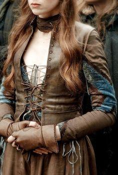 Game of Thrones Myranda leather Costume