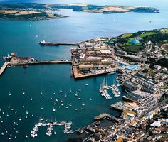 Falmouth-UK - As the Seagull flies Oh The Places You'll Go, Places To Visit, Beautiful Places In England, Falmouth Cornwall, Exeter Devon, Seaside Village, Cornwall England, See Picture, Homeland