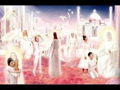 Kat Kerr teaches on Heaven and the coming Heaven invasion. She teaches that Heaven is NOT just a VERY long worship service and that people actually live REAL. Jesus Is Risen, Jesus Is Lord, Kingdom Of Heaven, The Kingdom Of God, Heaven Art, Heaven Painting, My Father's House, New Jerusalem, Bible Illustrations