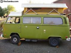 The dream! A 1970's VW Riviera Camper!
