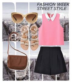 """""""Street Style"""" by marhay-ini on Polyvore featuring Art Addiction, RED Valentino, Elina Linardaki, Aéropostale and Coach"""