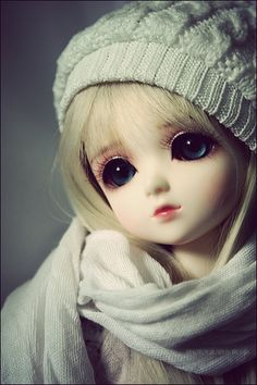 Uploaded by iYen. Find images and videos about cute, kawaii and doll on We Heart It - the app to get lost in what you love. Cute Cartoon Pictures, Cute Profile Pictures, Cute Cartoon Girl, Beautiful Barbie Dolls, Pretty Dolls, Bjd Doll, Blythe Dolls, Barbie Images, Cute Baby Wallpaper