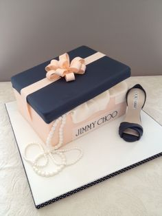 shoe box cake designs - Google Search