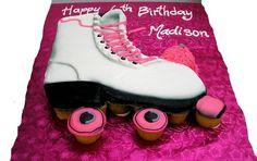 Roller Skate Cupcakes   Sinful Cake @Trena McNulty Campbell Pull Apart Cupcake Cake, Pull Apart Cake, Cupcake Cakes, Cup Cakes, Dance Party Birthday, Birthday Party Favors, Birthday Cakes, Birthday Ideas, 8th Birthday