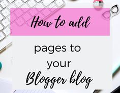 Add your first page to your blog - Make Money blogging
