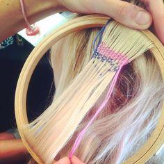 Les tapisseries pour cheveux envahissent les festivals de musique | Glamour