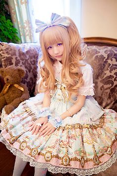 ☆ Angelic Pretty | Day Dream Carnival ☆  ☆ Photo By Riko | Model:Karin ☆