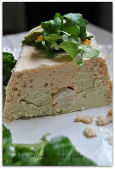 Terrine de saumon, lotte et noix de Saint-Jacques