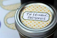 100  Mason Jar Labels Free to Download