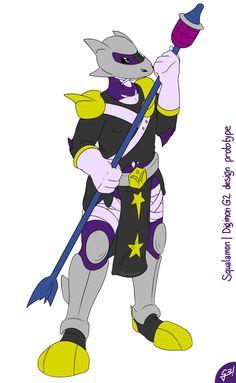 Squalamon prototype design | Digimon G2 by G3Drakoheart-Arts.deviantart.com on @DeviantArt
