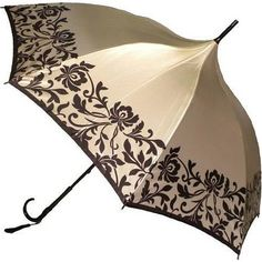 Italian Style Silky Satin Parasol - By Vista Cool Umbrellas, Umbrellas Parasols, Lace Umbrella, Under My Umbrella, Walking Sticks And Canes, Brollies, April Showers, Italian Style, Glamour