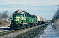 Burlington Northern EMD GP30