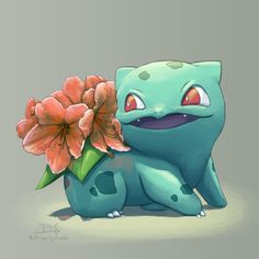 Rhododendron bulbasaur by request!