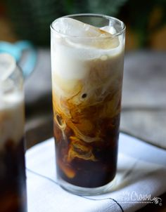 Cold Brewed Iced Coffee by myinvisiblecrown #Coffee #Iced_Coffee