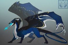 Ren Tekina colored by Neboveria on DeviantArt Creature Concept Art, Creature Design, Magical Creatures, Fantasy Creatures, Dragon Zodiac, Cool Dragons, Dragon Pictures, Fire Art, Wings Of Fire