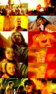 Game of Thrones // The Lion King // Mash Up