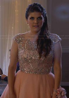 Sadie's prom dress on Awkward.  Outfit Details: http://wornontv.net/24402/ #Awkward