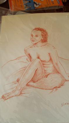 Sanguina. desnudo