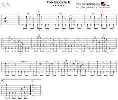 Open G Blues Shuffle Slide Guitar Lesson | Folk, Blues Lessons