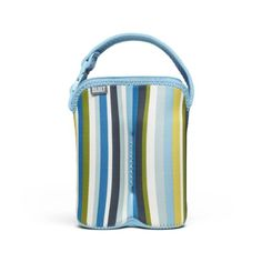 Built Bottle Buddy Two Bottle Tote In Baby Blue Stripe *** Click on the image for additional details.