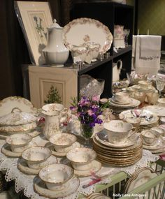 Antique Haviland Limoges China -     Holly Lane Antiques -
