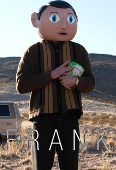 Frank based on the true story of Frank Sidebottom, is about an… Great Movies, New Movies, Frank Movie, Paper Mache Head, Maggie Gyllenhaal, Movie Previews, I Love You All, Movies, Tattoo