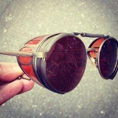 Vintage Matsuda Sunglasses Terminator 2 Sarah Conner Steampunk