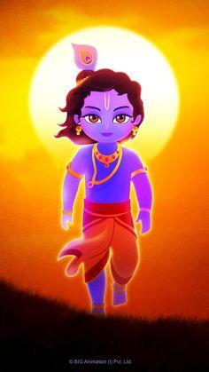 Lord Krishna Images, Radha Krishna Pictures, Radha Krishna Photo, Krishna Art, Shree Krishna, Hanuman, Little Krishna, Cute Krishna, Krishna Drawing