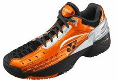 Yonex Men's Power Cushion 308CL Clay Court Tennis Shoe-12 D(M) US-Black/Orange Yonex. $109.00