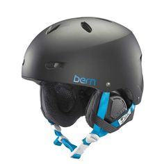 The Bern Brighton Womens Helmet can adapt to all season use and features a sleek and minimal styling. look good, feel good and be safe with this helmet.